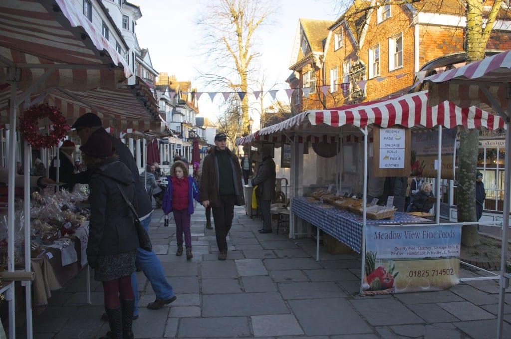 Pantiles Food & Craft Market, Tunbridge Wells