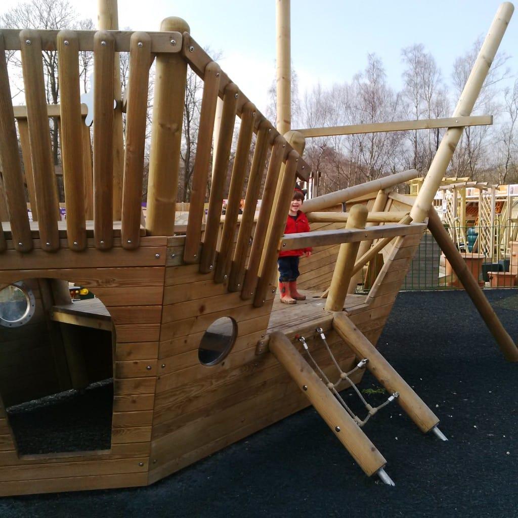 Pirate Ship, Notcutts Tunbridge Wells