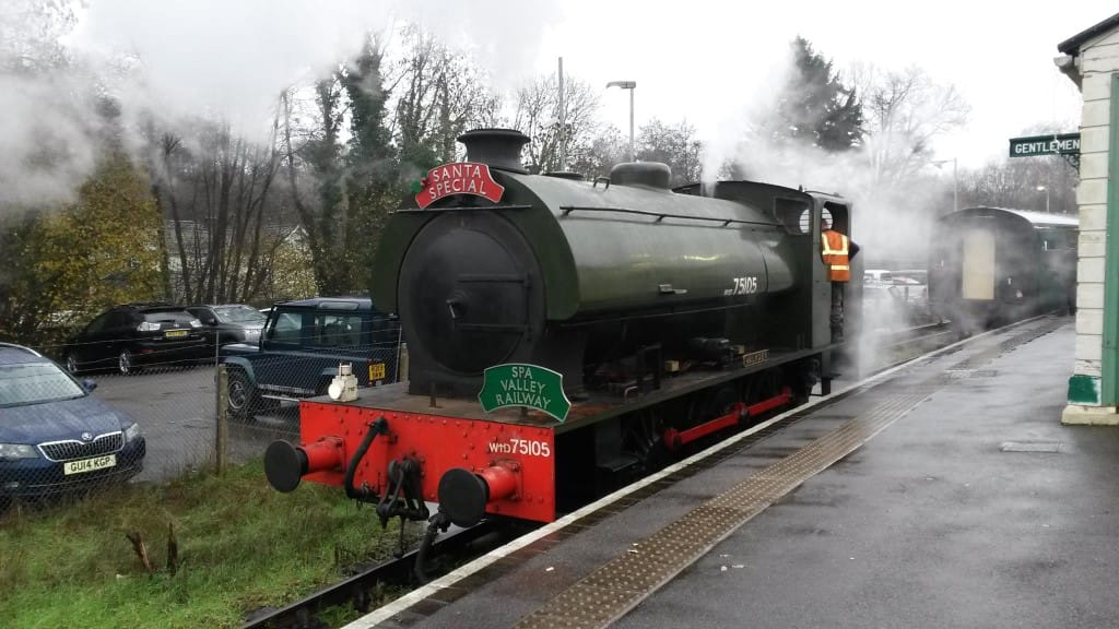 Spa Valley Railway's Santa Specials www.mytunbridgewells.com