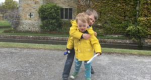 Celebrating May Day at Hever Castle