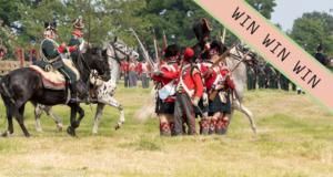 Hole Park's Napoleonic Re-enactment