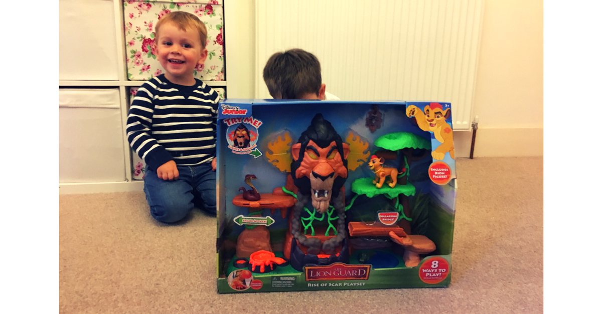 Review The Lion Guard Rise Of Scar Playset