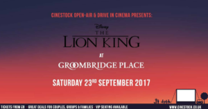 The Lion King at Groombridge Place