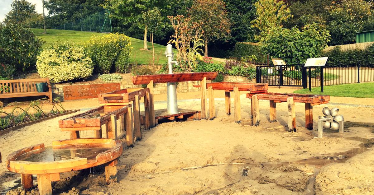 Tunbridge Wells playground at Calverley Grounds