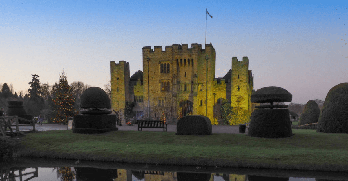 Hever Castle at Christmas
