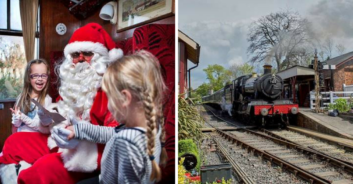 Santa on the Kent and East Sussex Railway