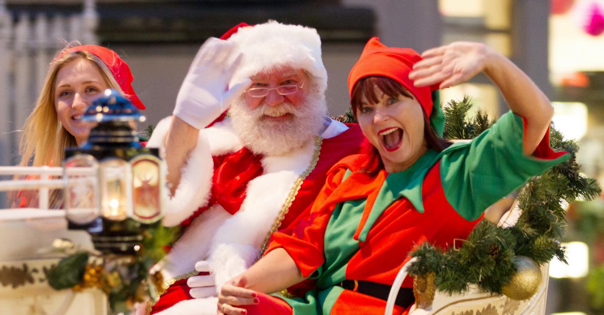 Santa's Arrival at Royal Victoria Place 3