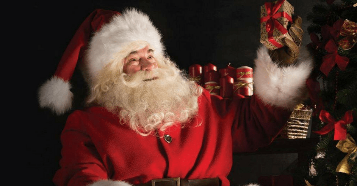 Howletts best places to see Father Christmas in Kent