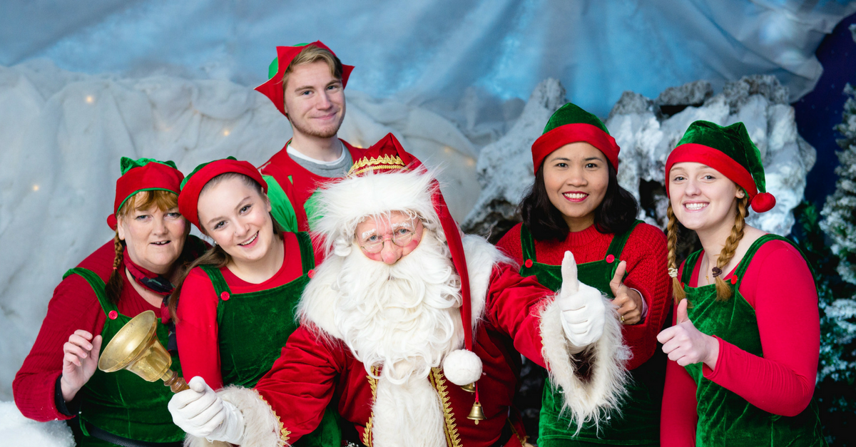 Millbrook Garden Centre best places to see Father Christmas in Kent