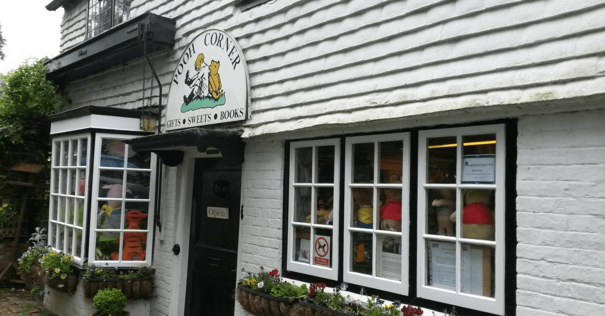 Pooh Corner Tunbridge Wells after Christmas