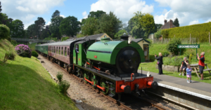 Spa Valley Railway Easter