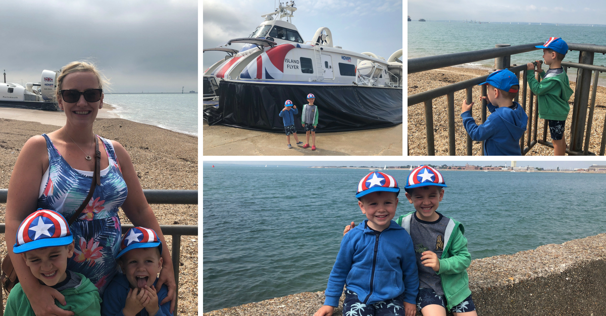 family break on the Isle of Wight_Hover Travel