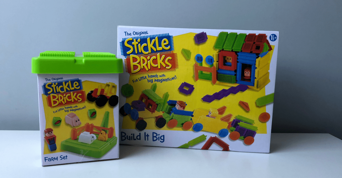Stickle Bricks Toy Review