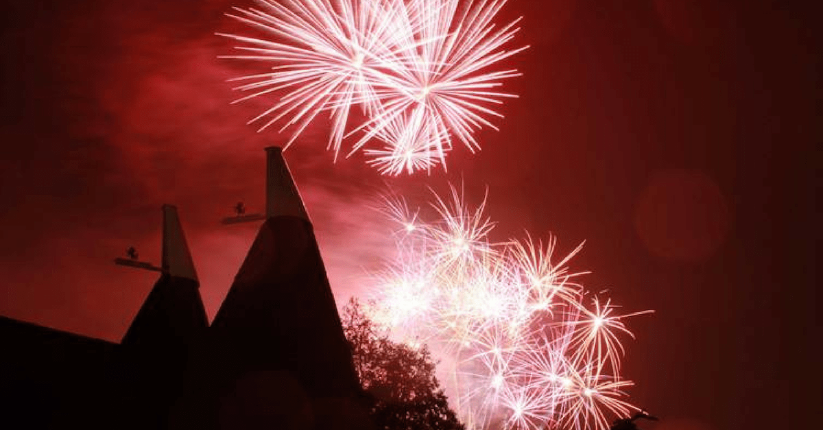 Fireworks at Kent Life