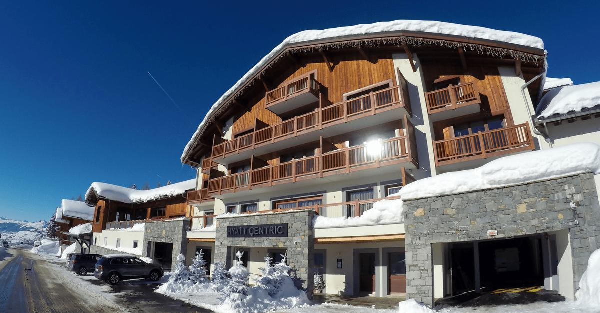 Hyatt Centric La Rosière_Family Ski Holiday
