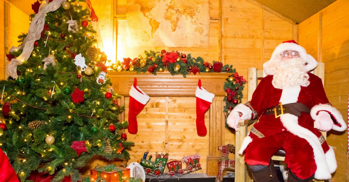 Santa at Kent Life
