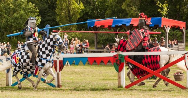 Summer Jousting at Hever Castle