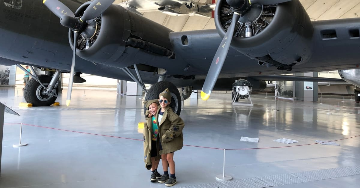 Seven tips for visiting the Imperial War Museum Duxford with kids