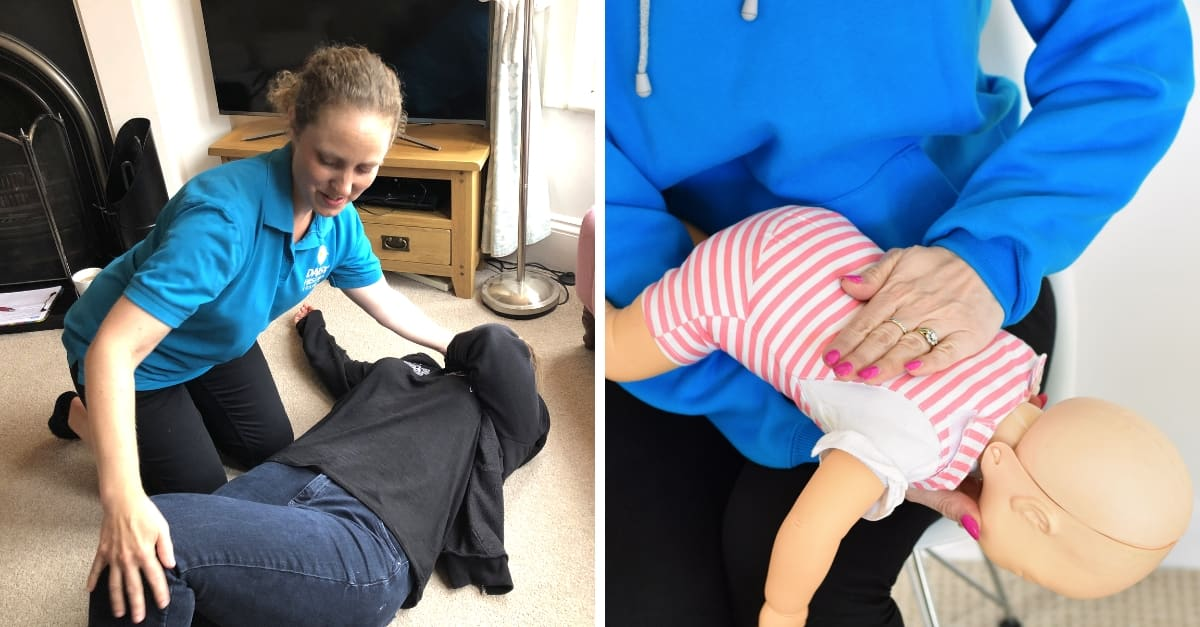 Review - Daisy First Aid's Family First Aid Class