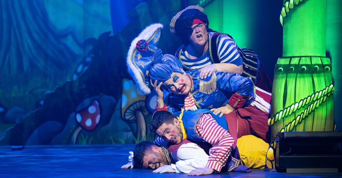 Panto Review Peter Pan at EM Forster Theatre in Tonbridge