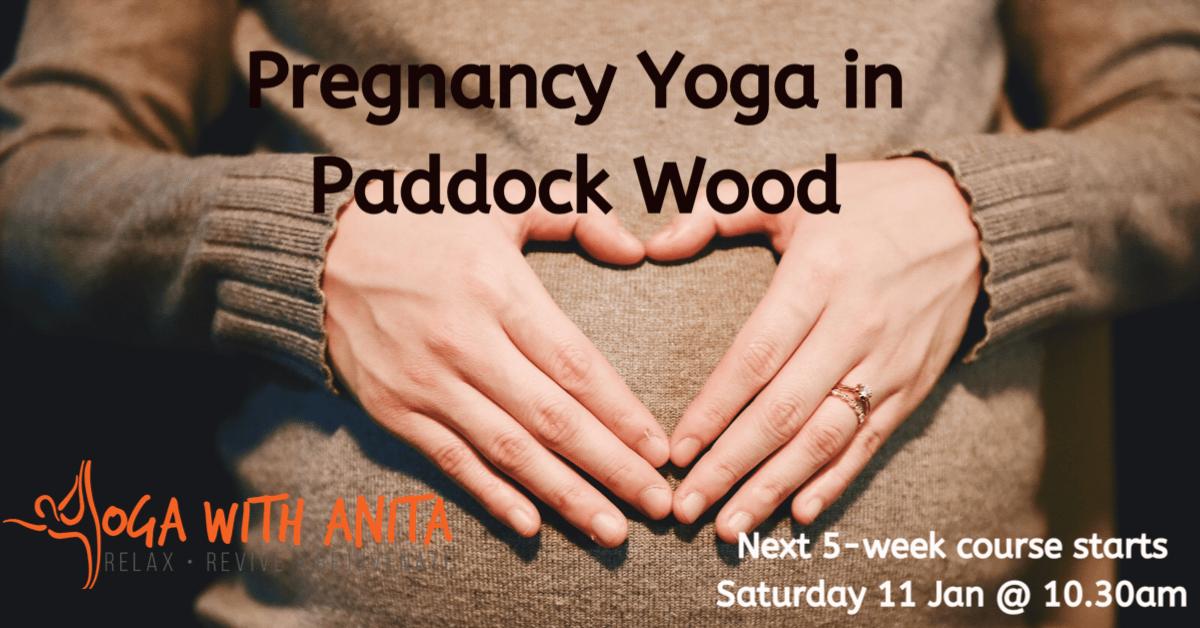 Pregnancy Yoga in Paddock Wood - 5 Week Course