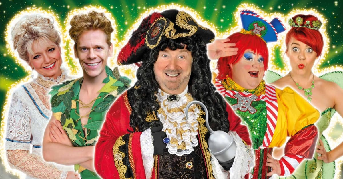 Review Peter Pan Panto at the Assembly Hall Theatre, Tunbridge Wells