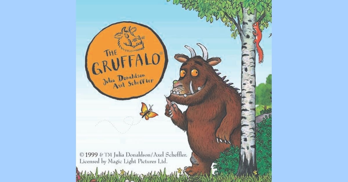 Bugs and Grubs Weekend featuring the Gruffalo