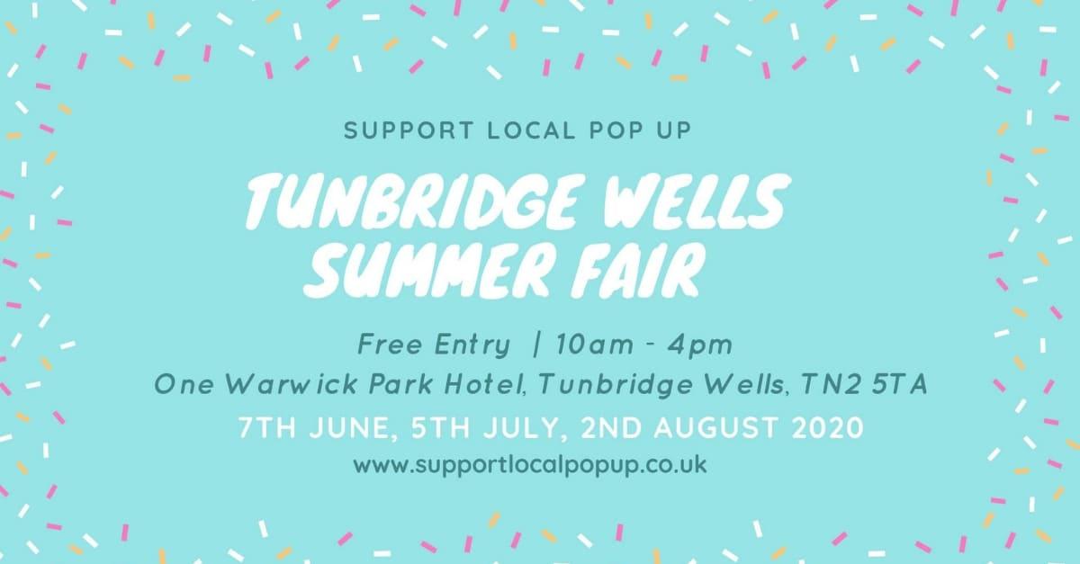 Support Local Pop Up Summer Fair Tunbridge Wells