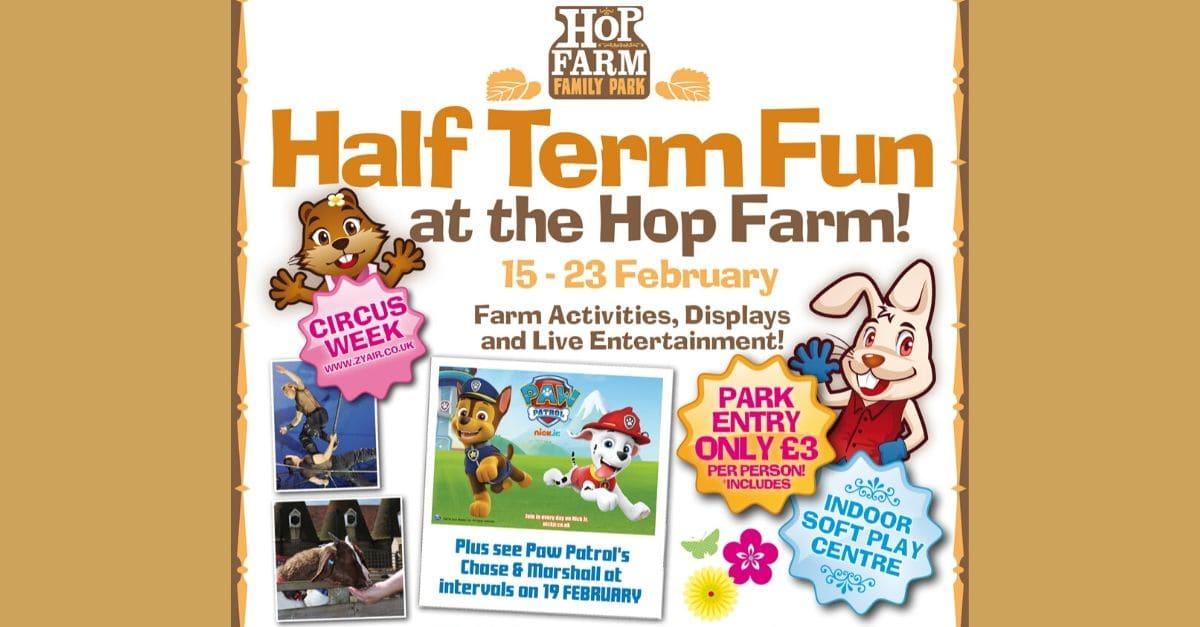 February Half Term at The Hop Farm