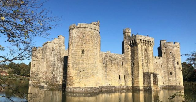 Bodiam National Trust in Kent and East Sussex
