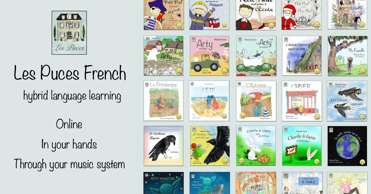 Les Puces French Online Learning z