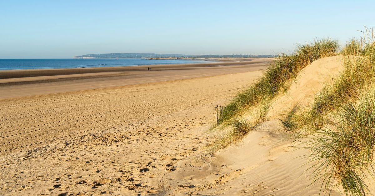 Camber Sands beach - best beaches in Kent and East Sussex