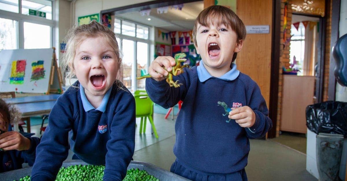 boys to the Nursery at Kent College Prep School