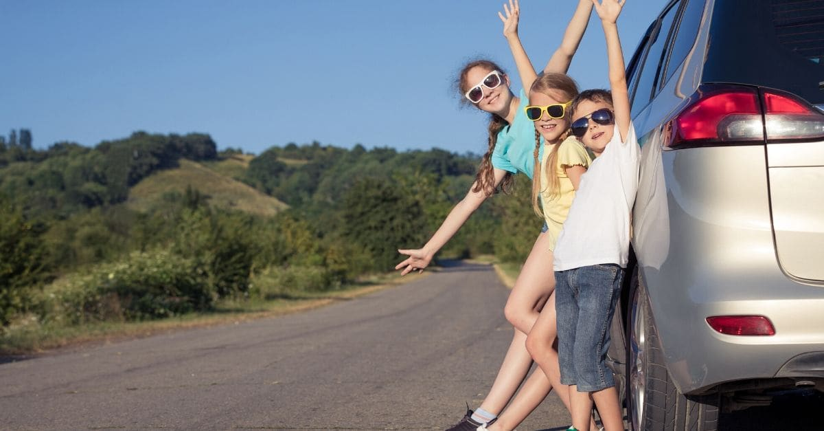 Five tips for long car journeys with your kids