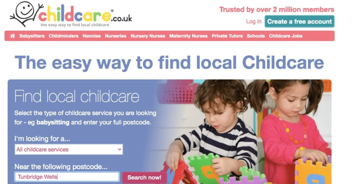 Local childcare provider review childcare.co.uk