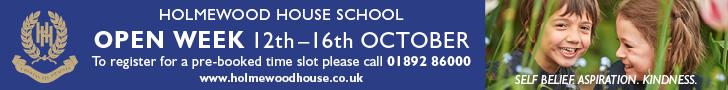 Holmewood House School Open Week