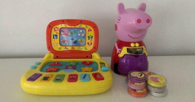 Count with Peppa and Laptop