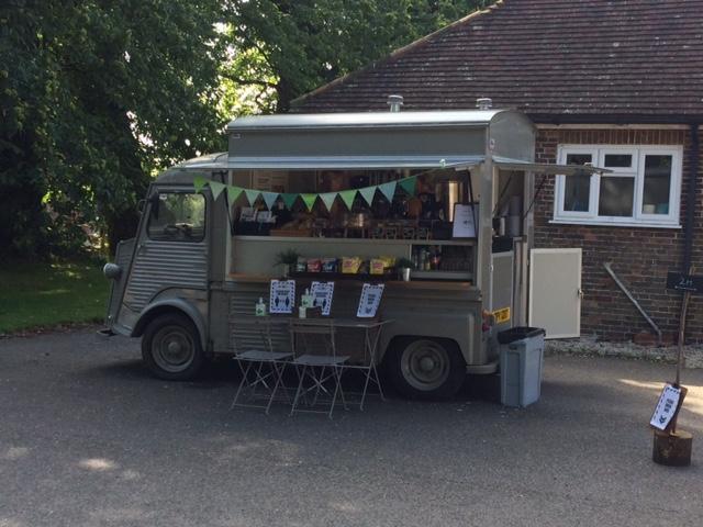 Food Van at Hersmonceux Castle
