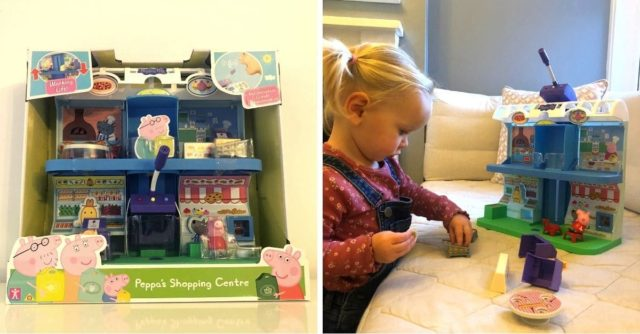 Peppa's Shopping Centre Playset Review
